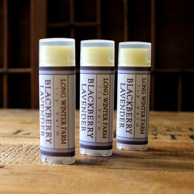 Blackberry Lavender Lip Balm