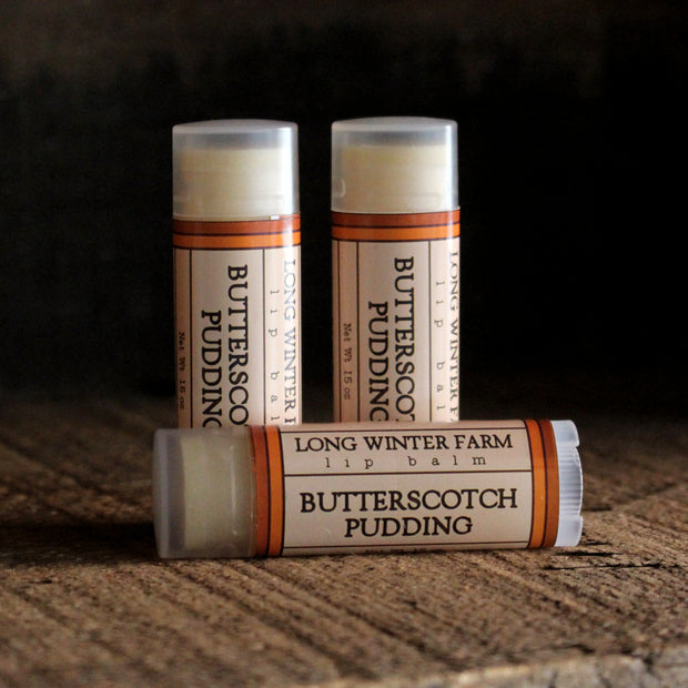 Butterscotch Pudding Lip Balm