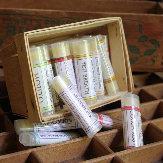 Four Seasons of Balm - One Year, Twelve Tubes, Four Shipments