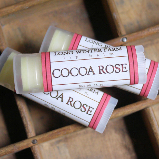 Cocoa Rose Lip Balm
