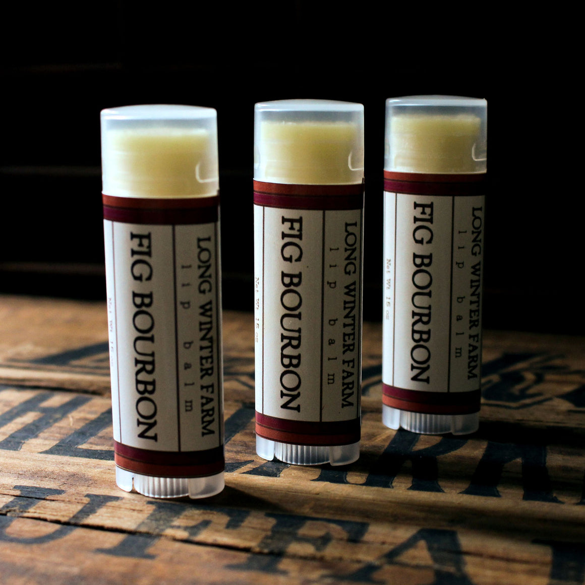 Fig Bourbon Lip Balm