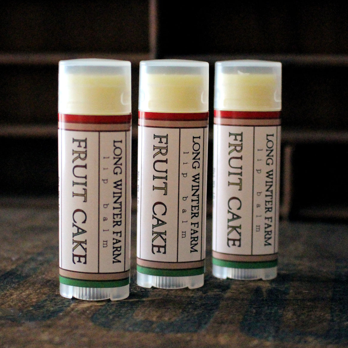 Fruit Cake Lip Balm