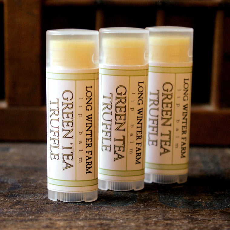 Green Tea Truffle Lip Balm