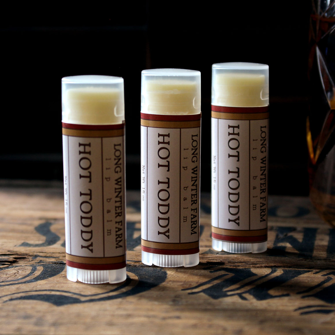 Hot Toddy Lip Balm
