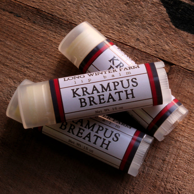 Krampus Breath Lip Balm