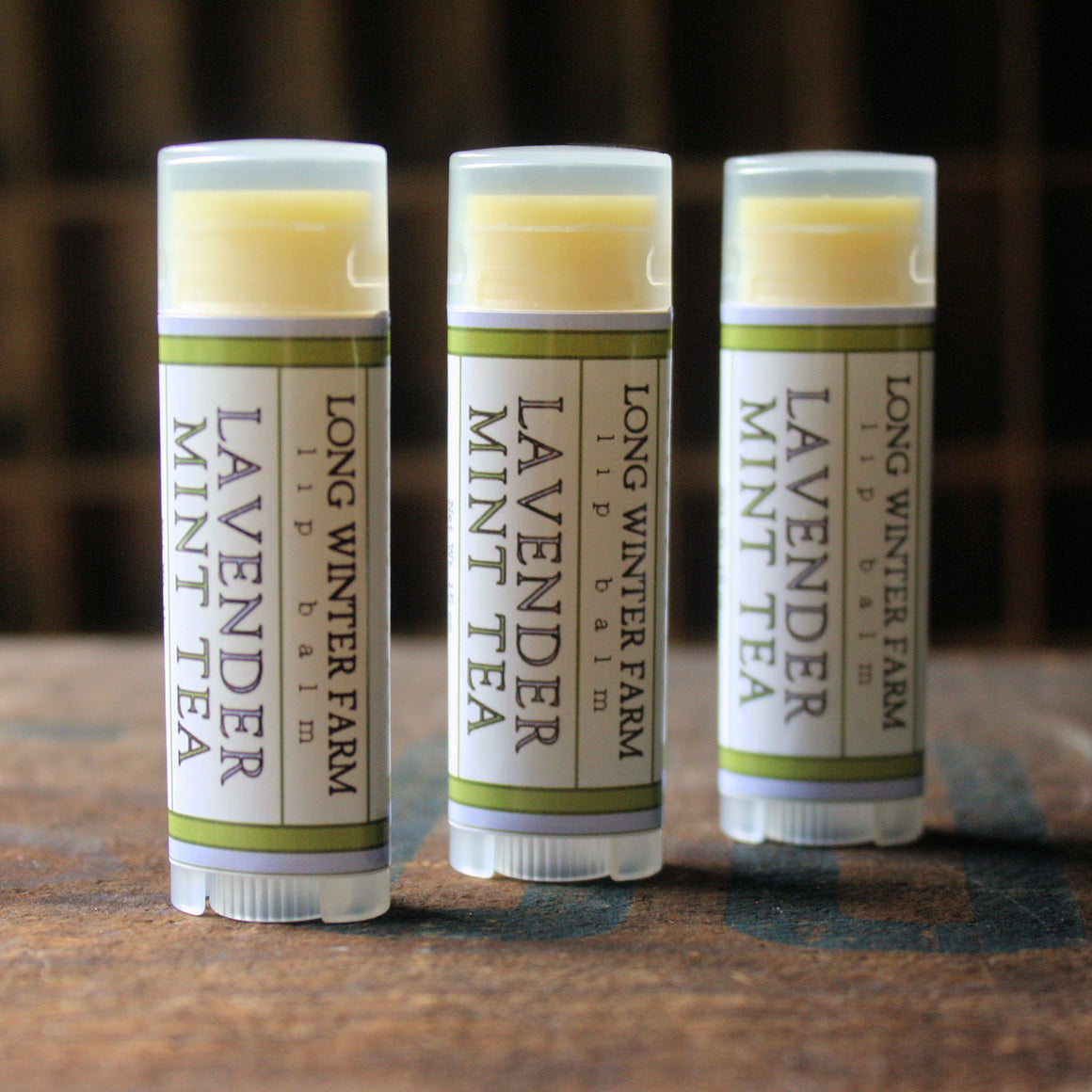 Lavender Mint Tea Lip Balm