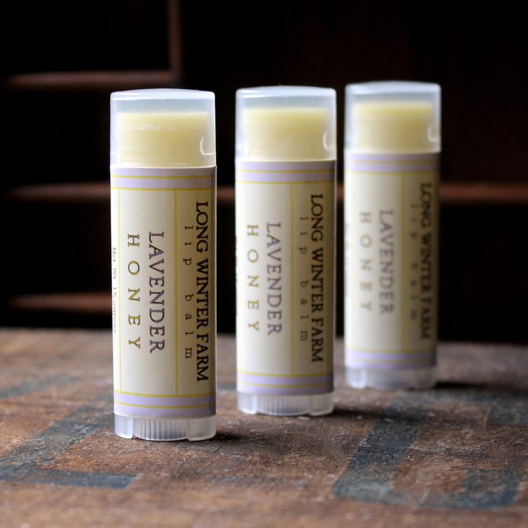 Lavender Honey Lip Balm