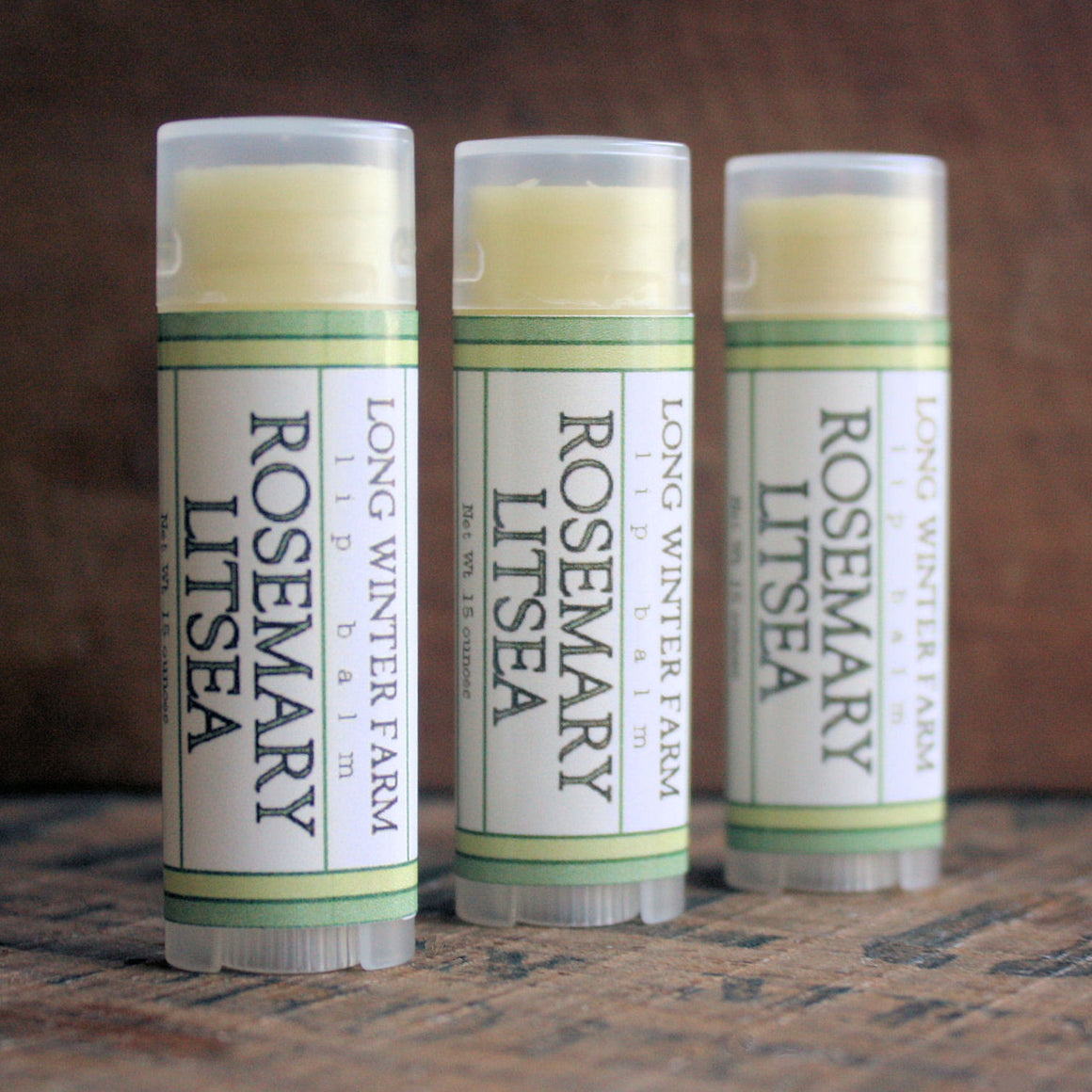Rosemary Litsea Lip Balm