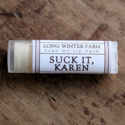 Read My Lip Balm