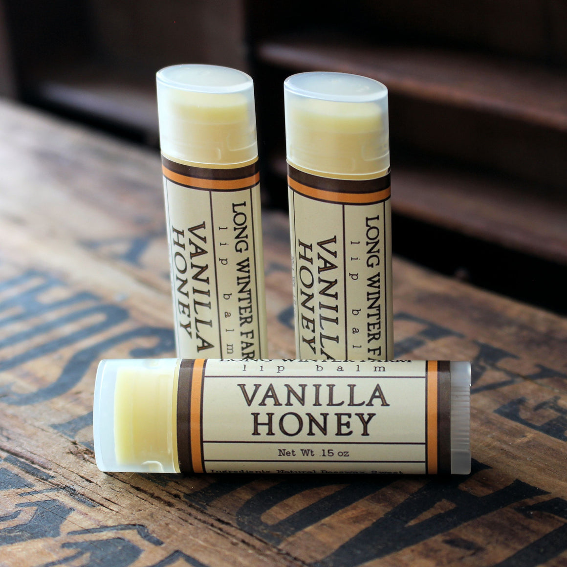 Vanilla Honey Lip Balm
