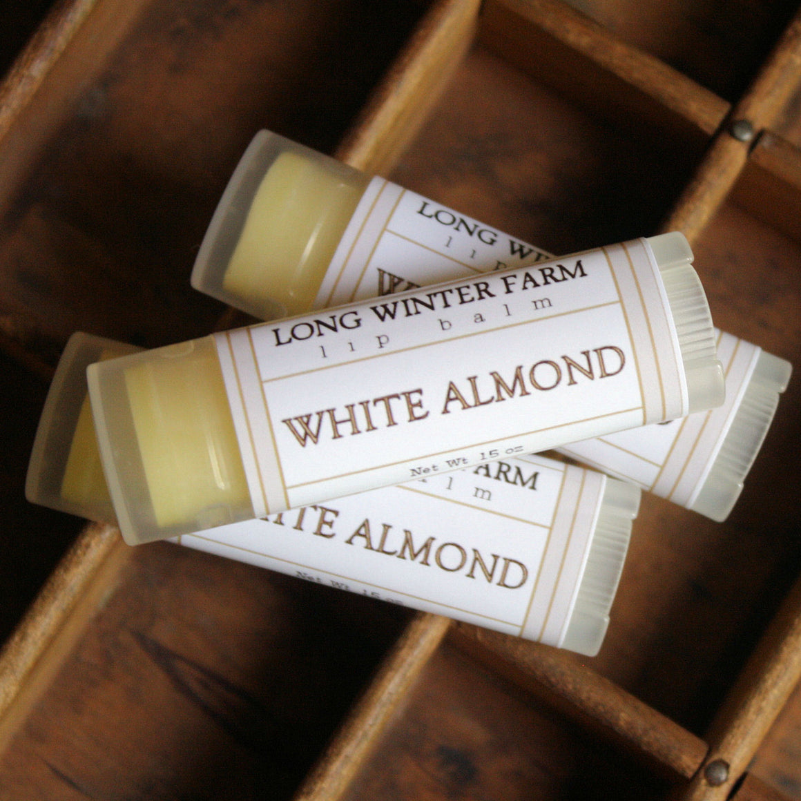 White Almond Lip Balm