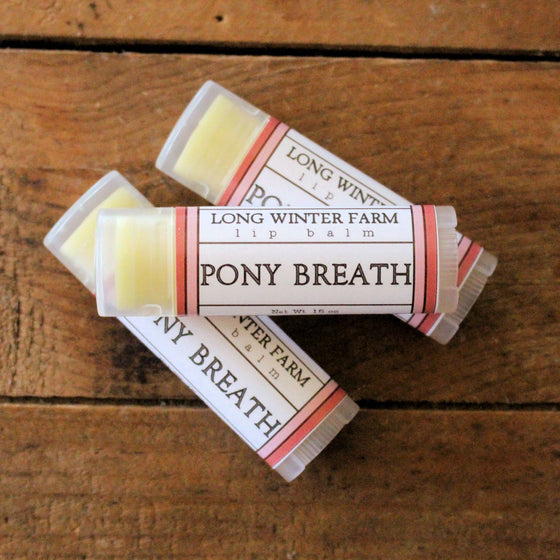 Pony Breath Lip Balm