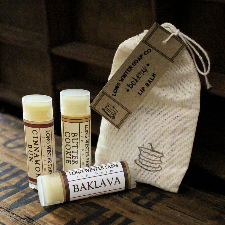 Bakery Lip Balm Trio