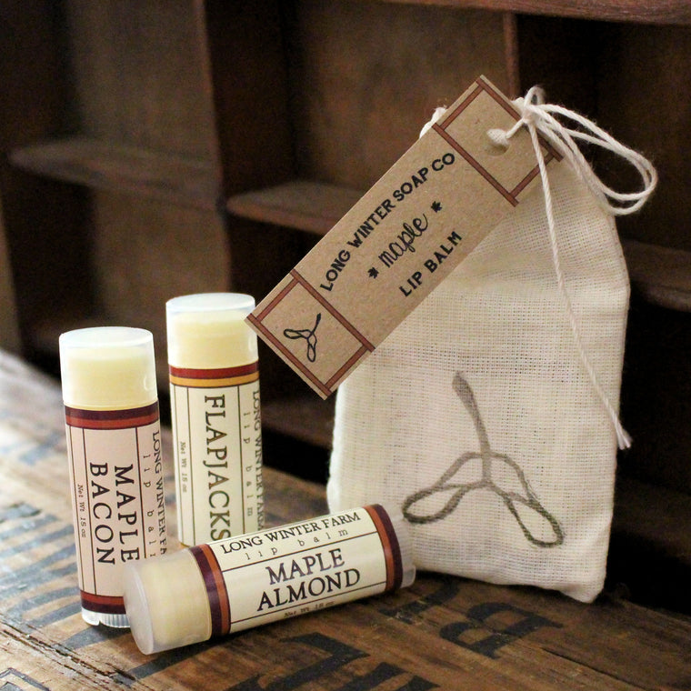 Maple Lip Balm Trio