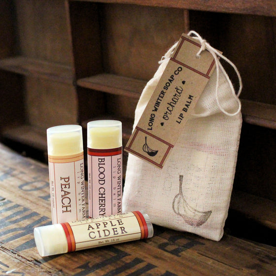 Orchard Lip Balm Trio