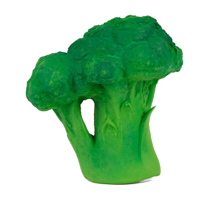 Brucy the Broccoli Rubber Toy