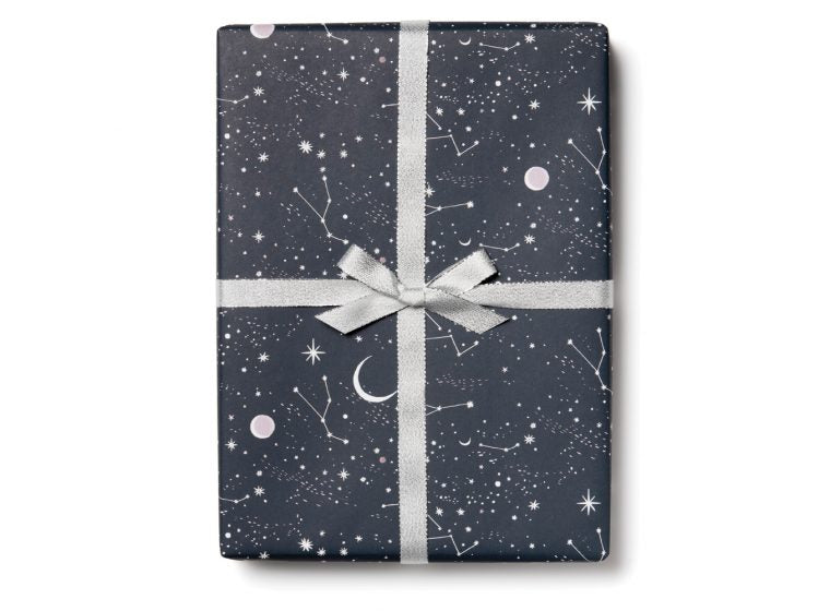 Red Cap Cards - Moon and Stars Wrap