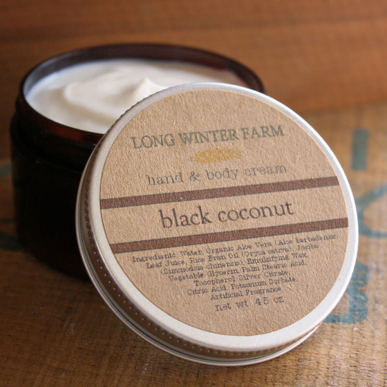 Black Coconut Skin Cream