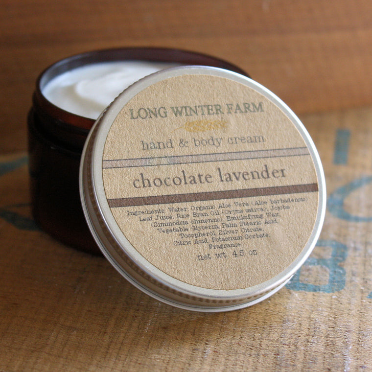 Chocolate Lavender Skin Cream