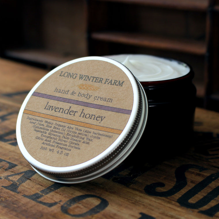 Lavender Honey Skin Cream