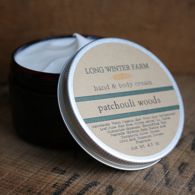 Patchouli Woods Skin Cream