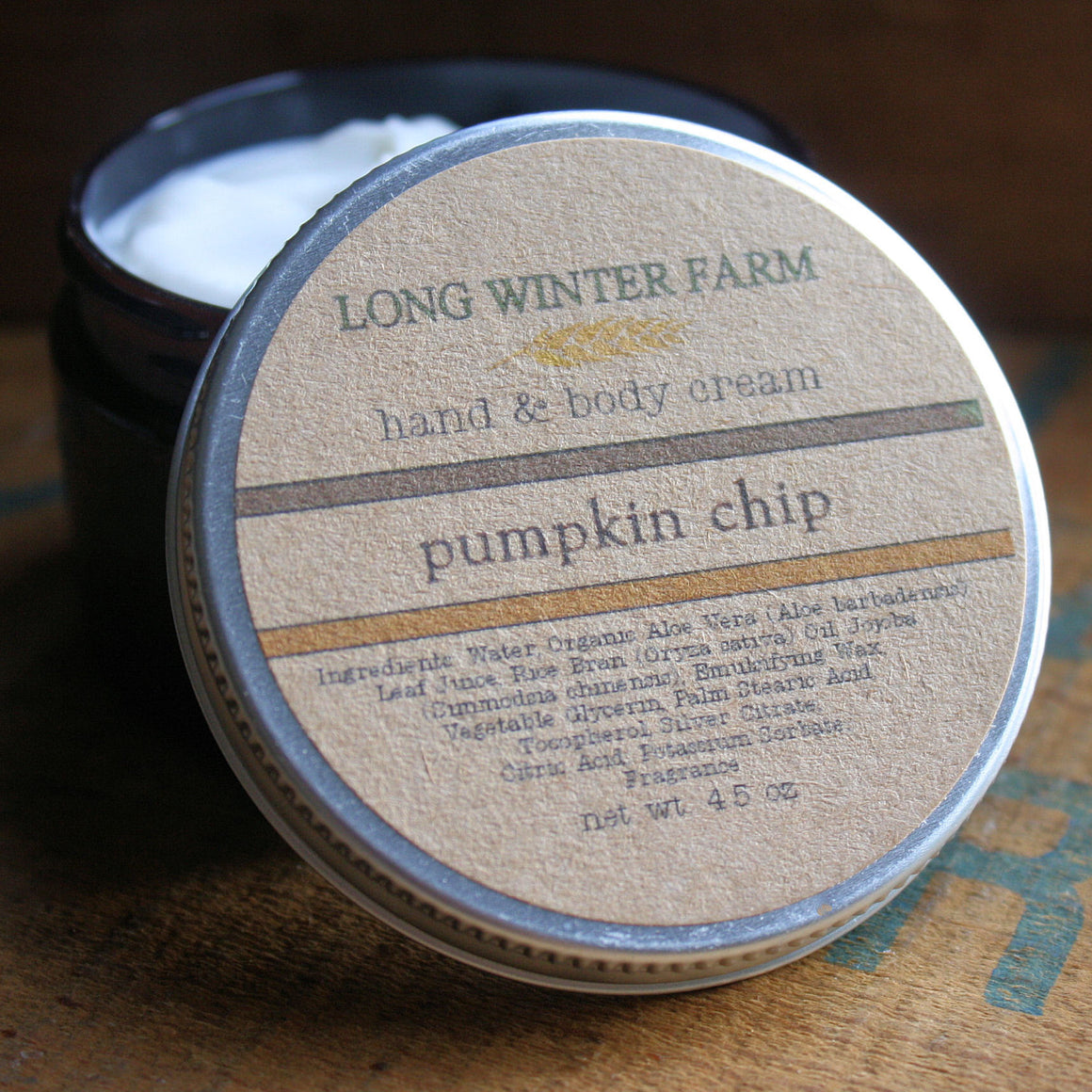 Pumpkin Chip Skin Cream