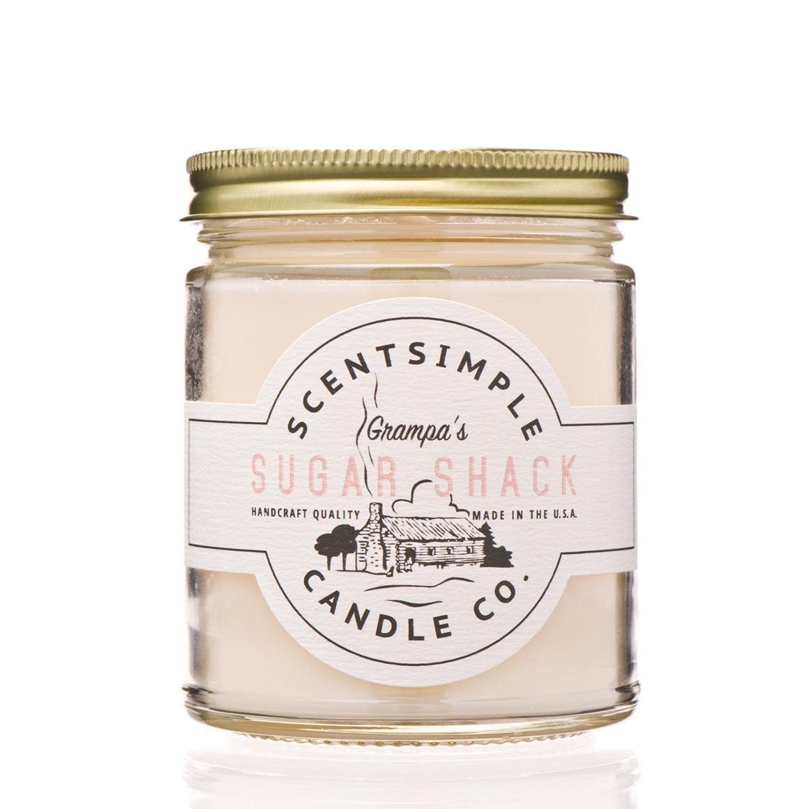 ScentSimple Candle Co. - Grampa's Sugar Shack - Soy Wax Candle