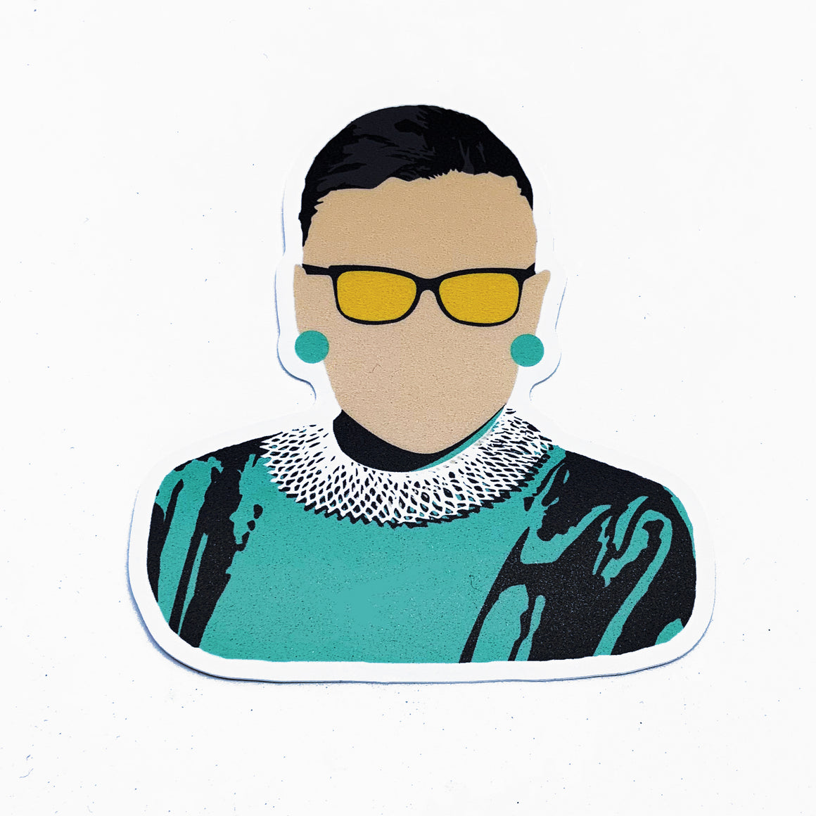 Citizen Ruth - Minimalist RBG Sticker