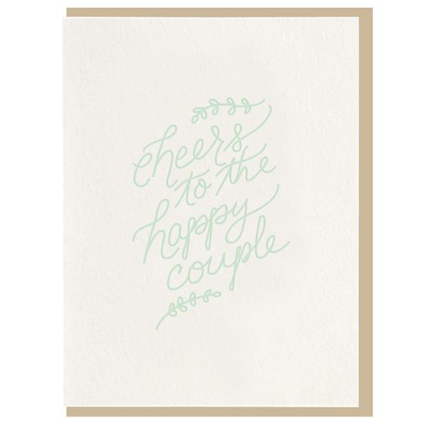 Dahlia Press - Cheers Card