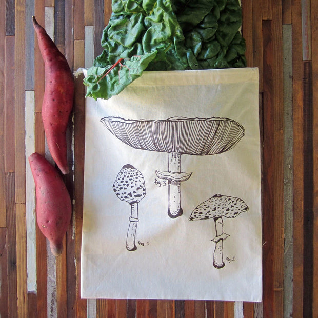 Oh, Little Rabbit - Mushroom Produce Bag