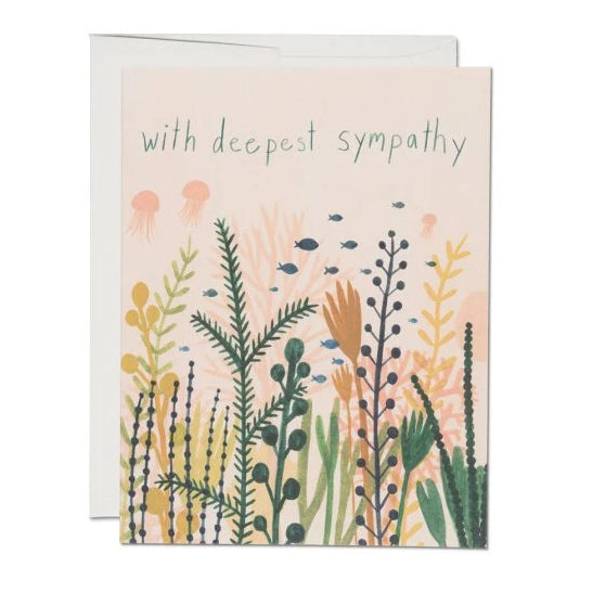 Red Cap Cards - Underwater Sympathy