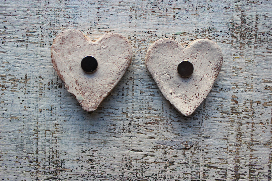 HandyHappy - Garden Heart Magnets