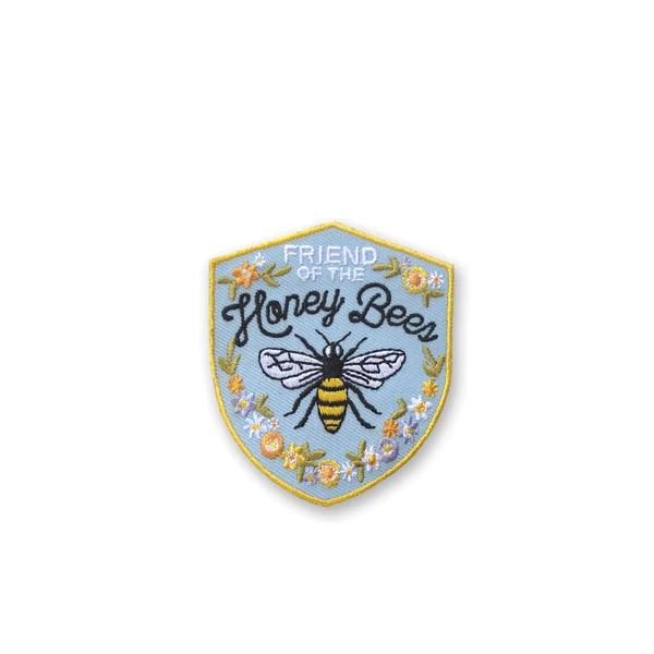 Antiquaria - Honey Bee Embroidered Patch