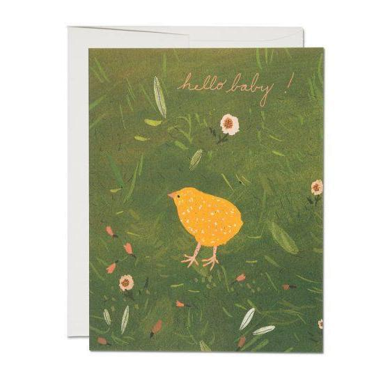 Red Cap Cards - Baby Chick
