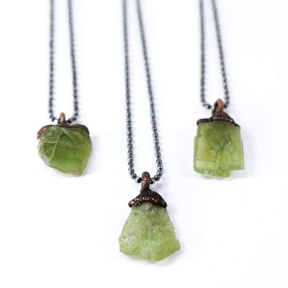 necklace jewelry peridot shop necklaces