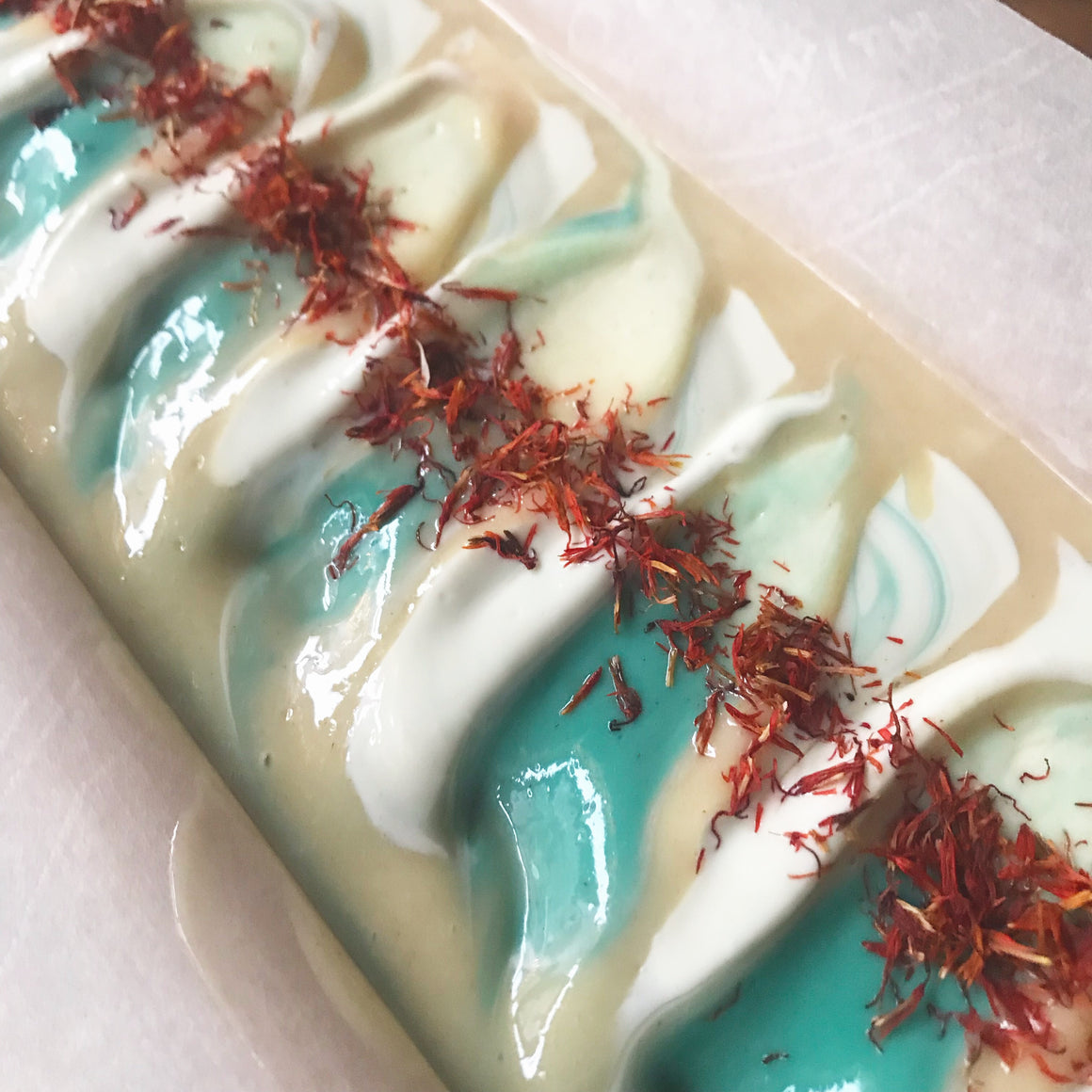 Peppermint Orange Cold Process Soap