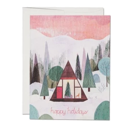 Red Cap Cards - Modern Cabin