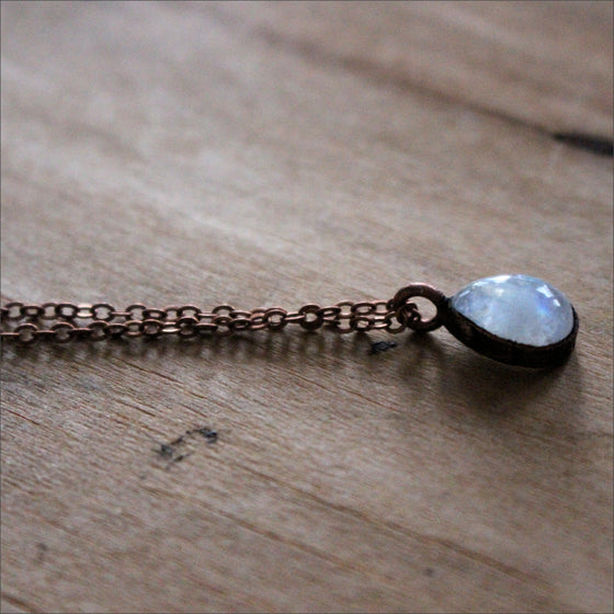 "Moonstone Necklace - 18"" Chain"