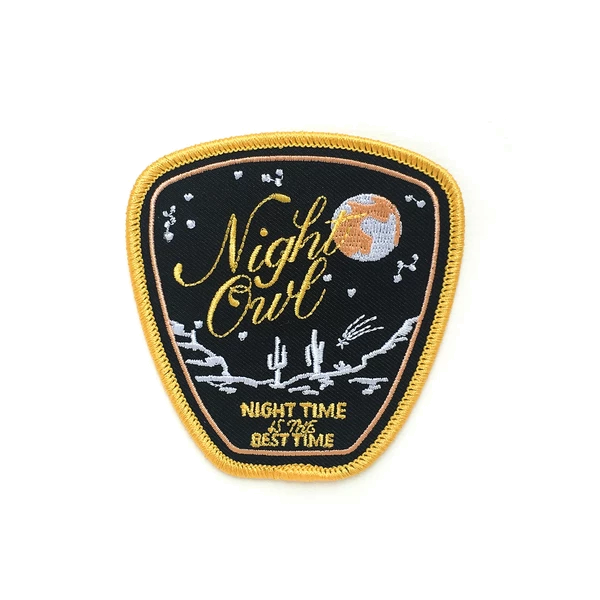 Antiquaria - Night Owl Embroidered Patch