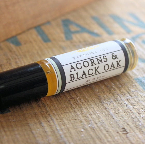 Acorns and Black Oak Perfume Oil