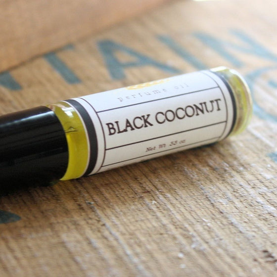 Black Coconut Perfume Oil