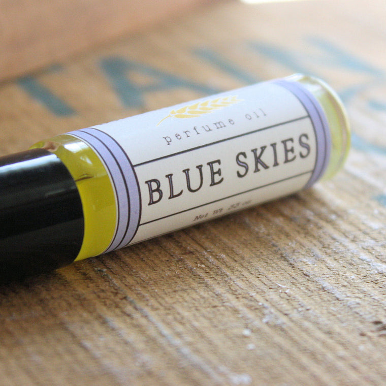Blue Skies Perfume Oil