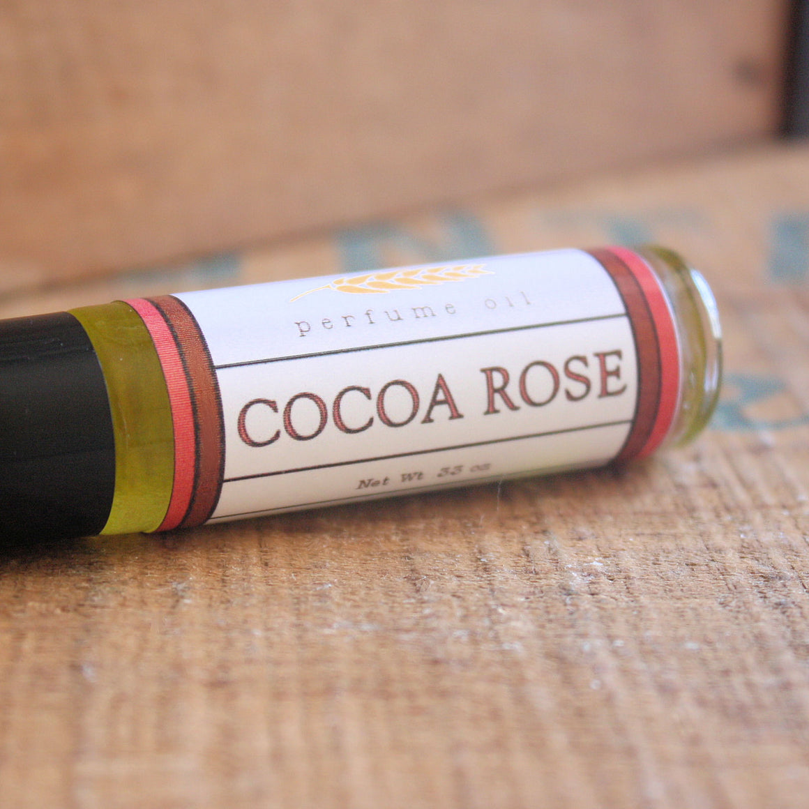 Cocoa Rose Perfume Oil
