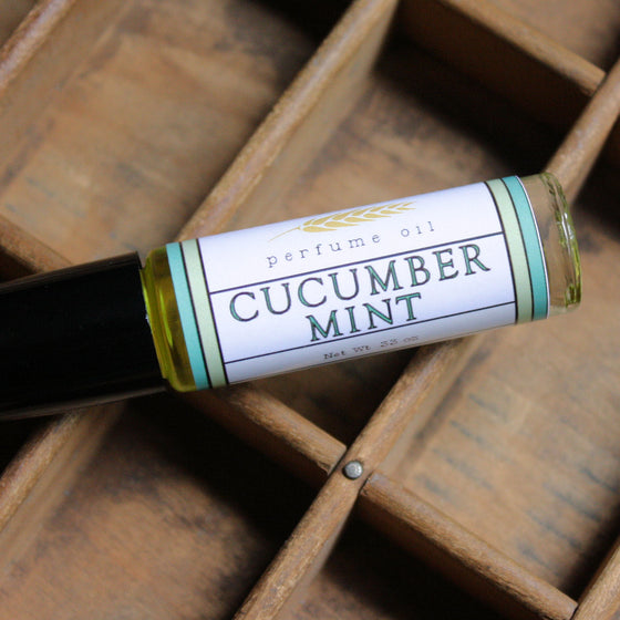 Cucumber Mint Perfume Oil