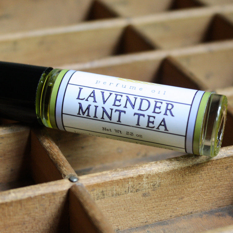 Lavender Mint Tea Perfume Oil