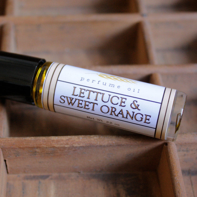 Lettuce & Sweet Orange Perfume Oil