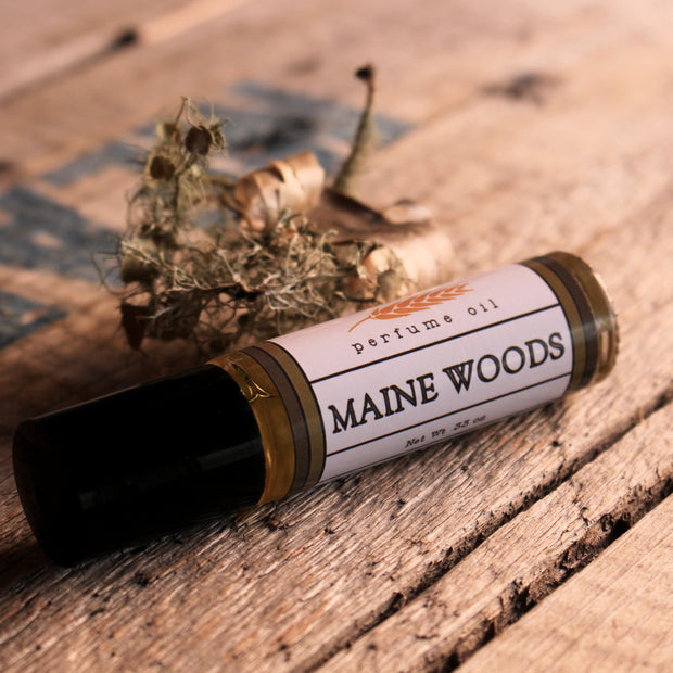 Maine Woods Perfume Oil