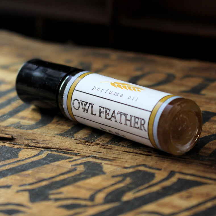 Owl Feather Perfume Oil