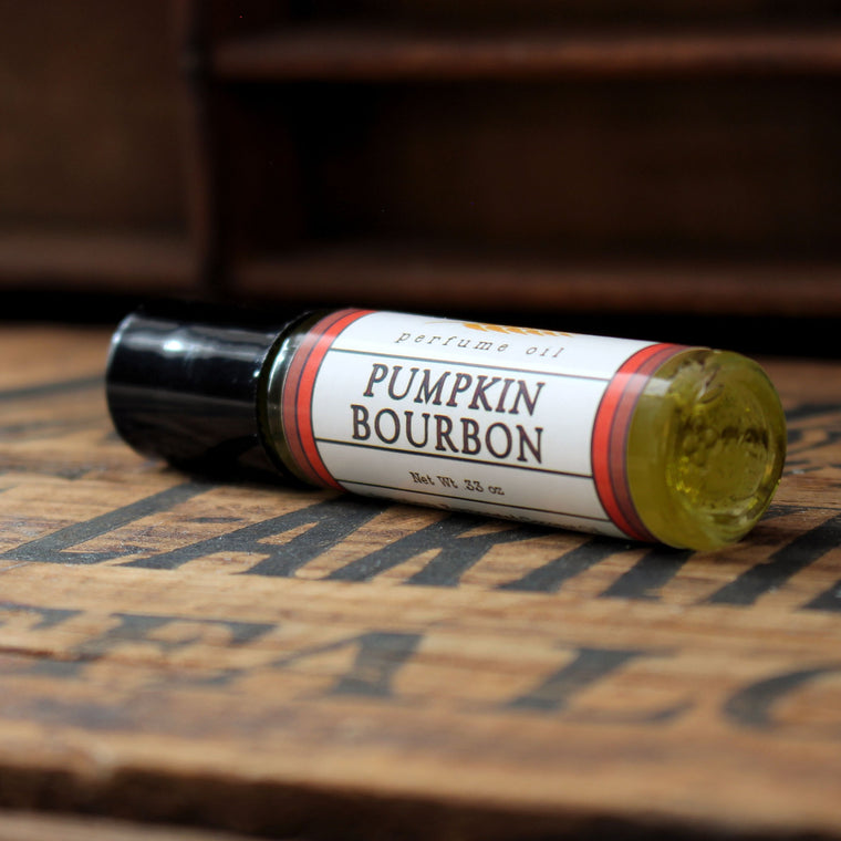 Pumpkin Bourbon Perfume Oil