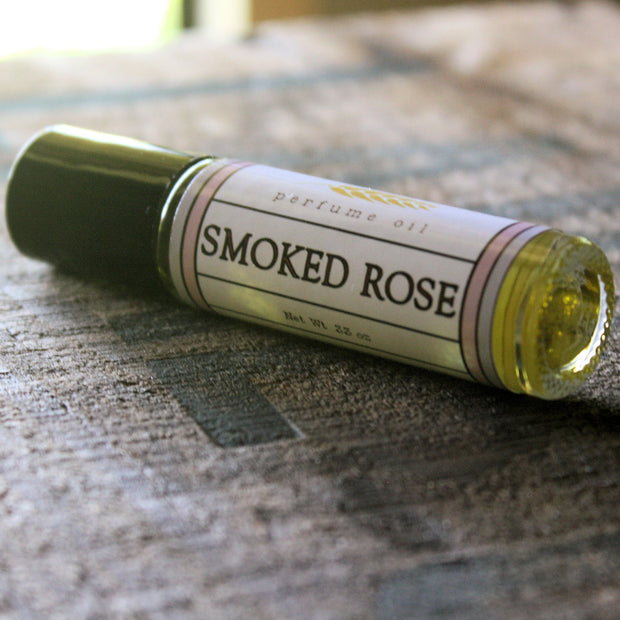 Smoked Rose Perfume Oil